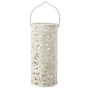 John Lewis Forage Leaves Tealight Holder, Mushroom