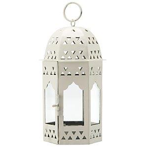 John Lewis Moroccan Lantern, Mushroom