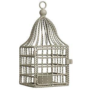 John Lewis Tealight Birdcage Lantern, Mushroom