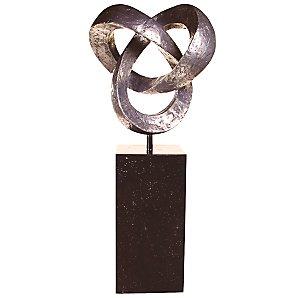 Trefoil Knot Outdoor Sculpture