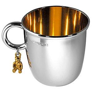 Theo Baby Bear Sterling Silver Mug