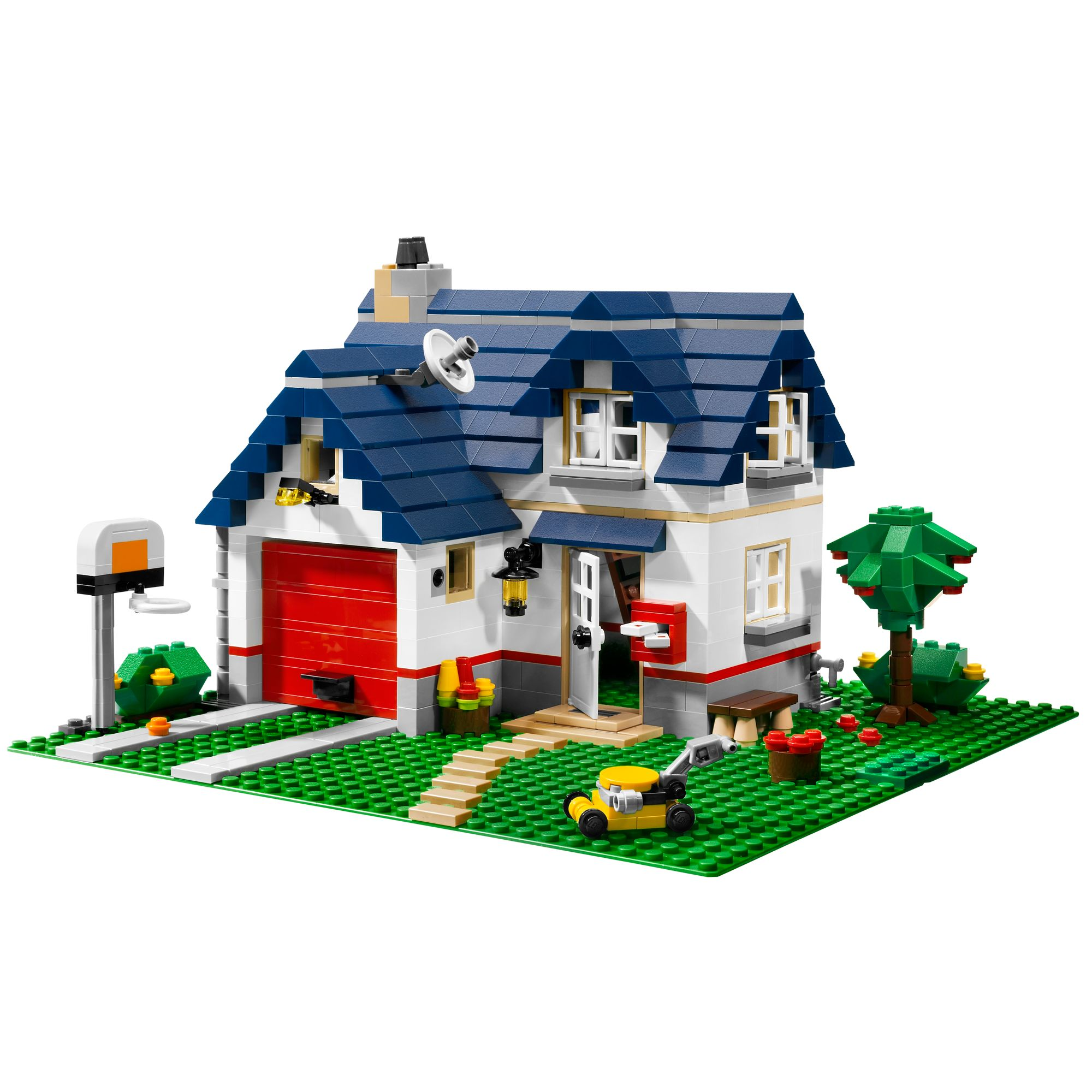 Lego Creator 3 in 1 Apple Tree House Building Kit