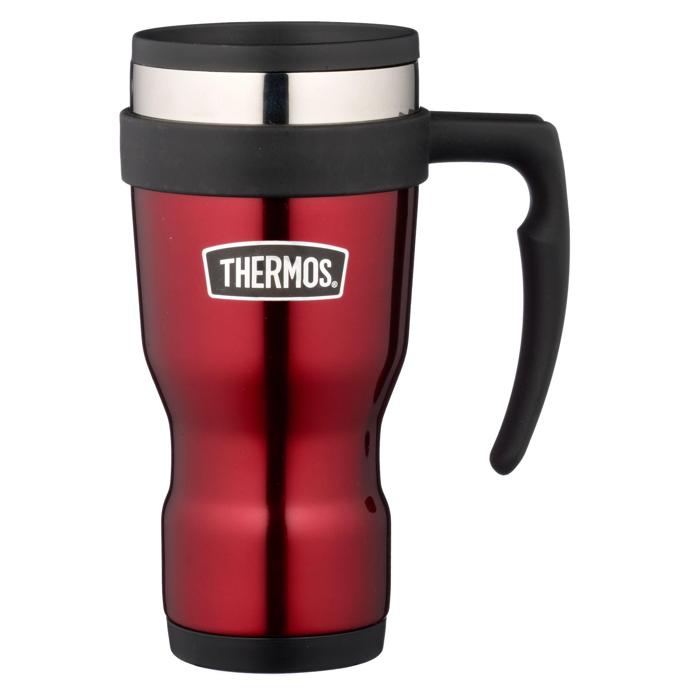 Thermos Vintage Travel Mug, Red
