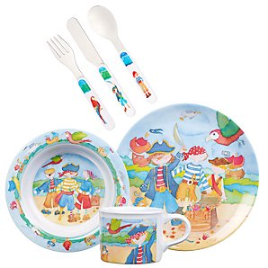 Emma Ball Pirates Dinner Set