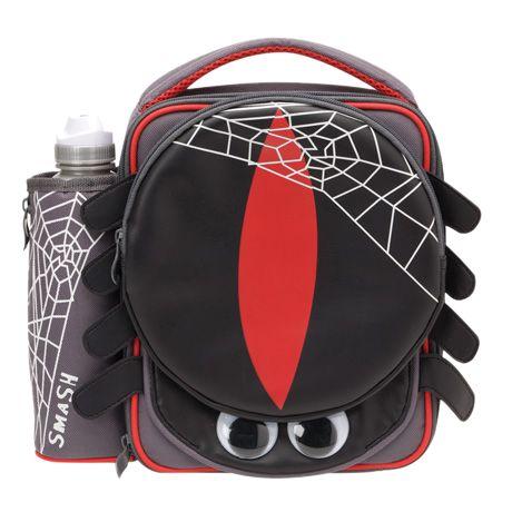 Smash Spider Case and Bottle Lunch Set