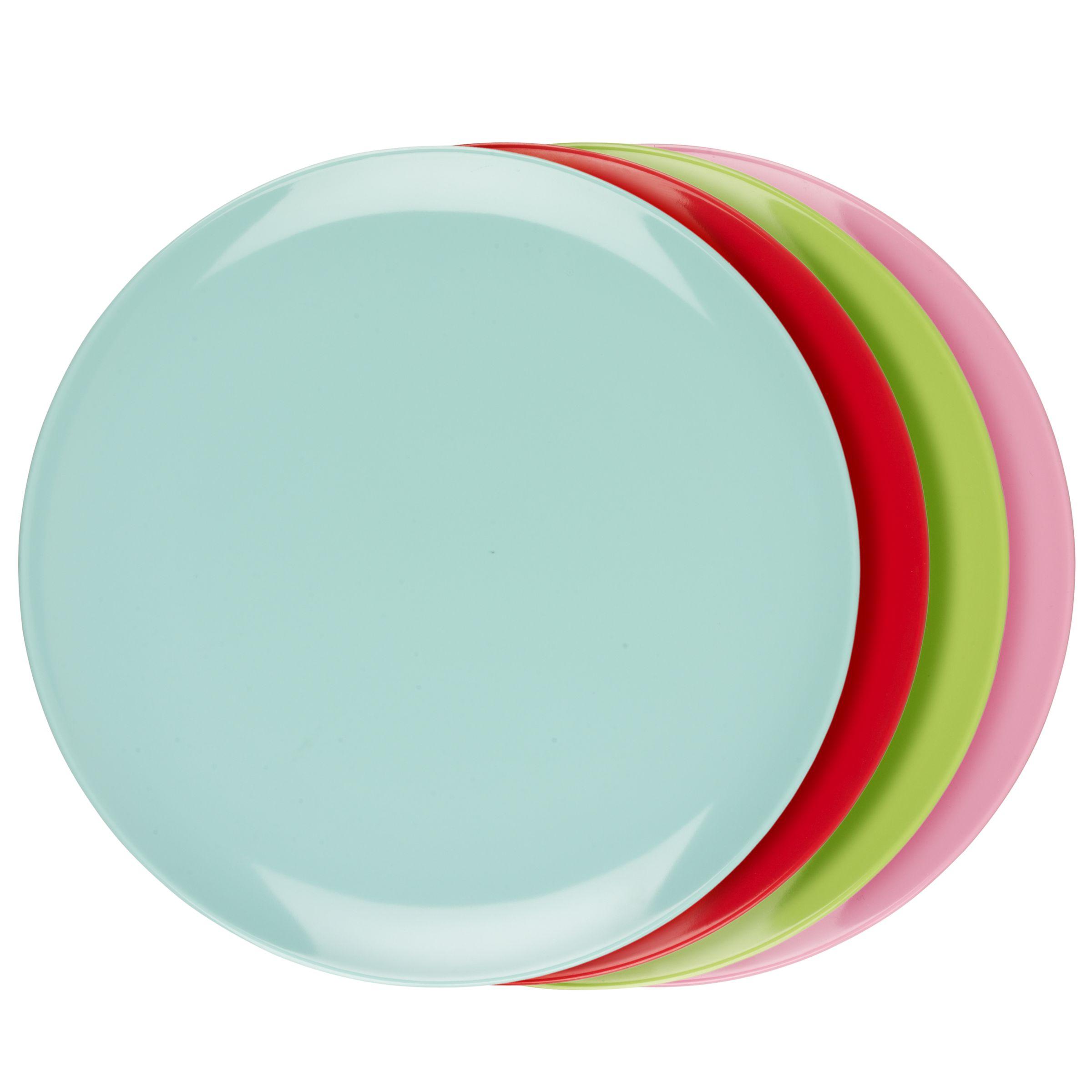 John Lewis Brights Plates, Set of 4