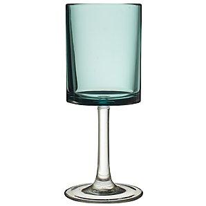 John Lewis Acrylic Wine Glass, Kingfisher