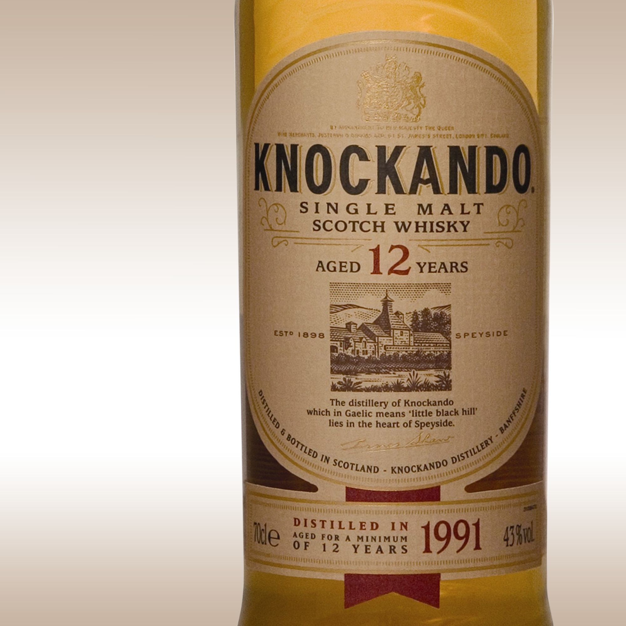 Knockando 12 Year Old Speyside Malt Whisky