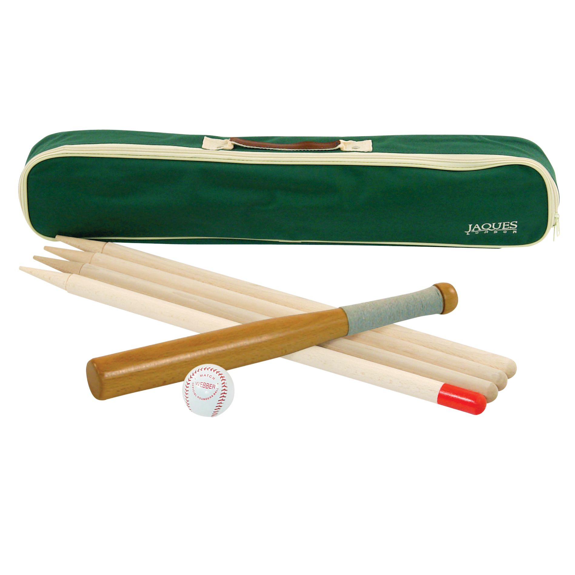 Jaques Family Rounders Set with Posts