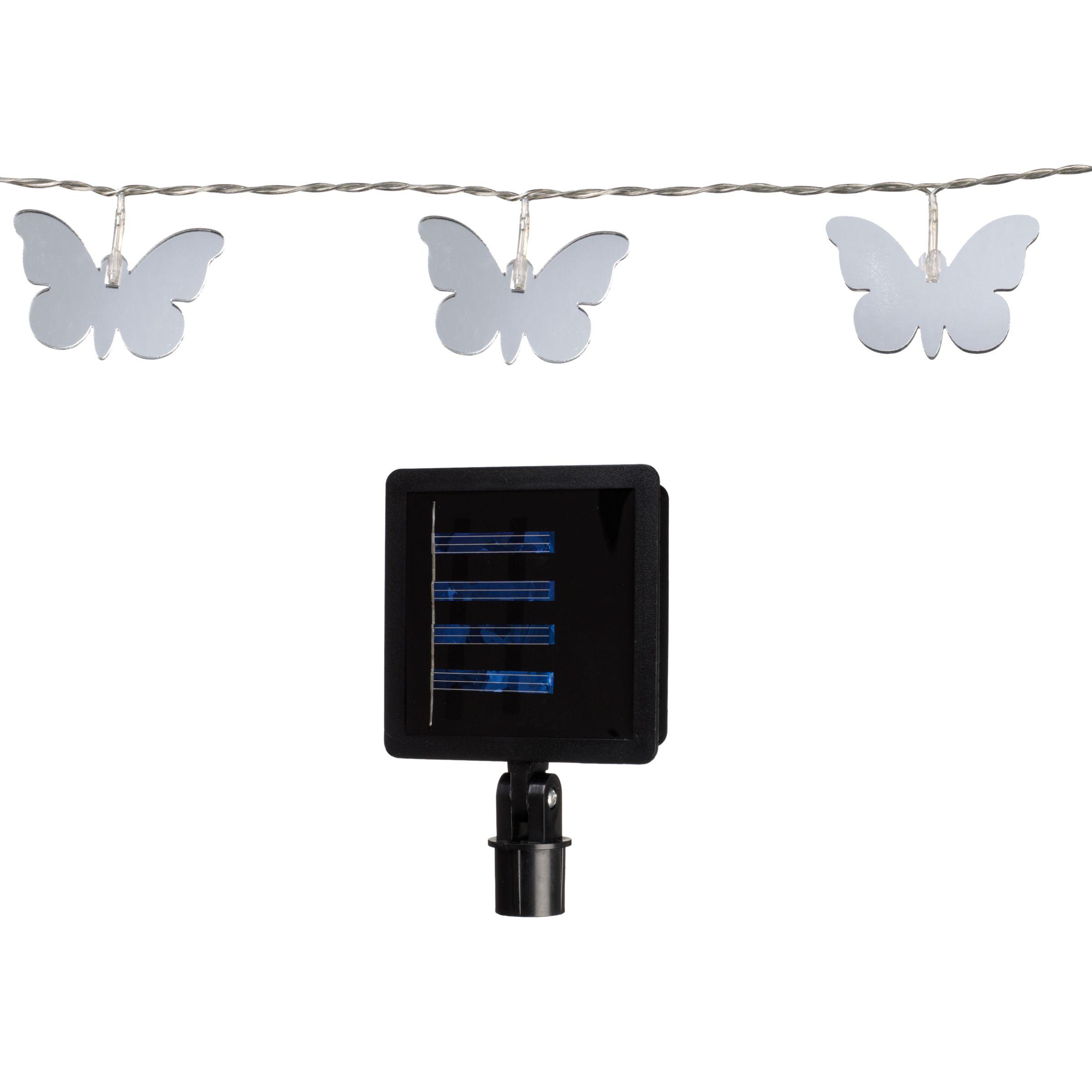 John Lewis 15 Butterfly LED Line Lights