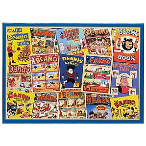 Gibsons Beano and Dandy Jigsaw Puzzle 1000 Piece