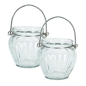 Garden Trading Glass Votives, Set of 2
