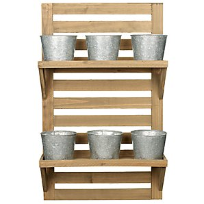 Fallen Fruits Wall-Mounted Herb Rack