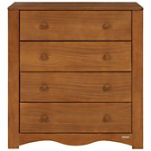 John Lewis Rachel Chest of Drawers, Darkwood, width 84cm