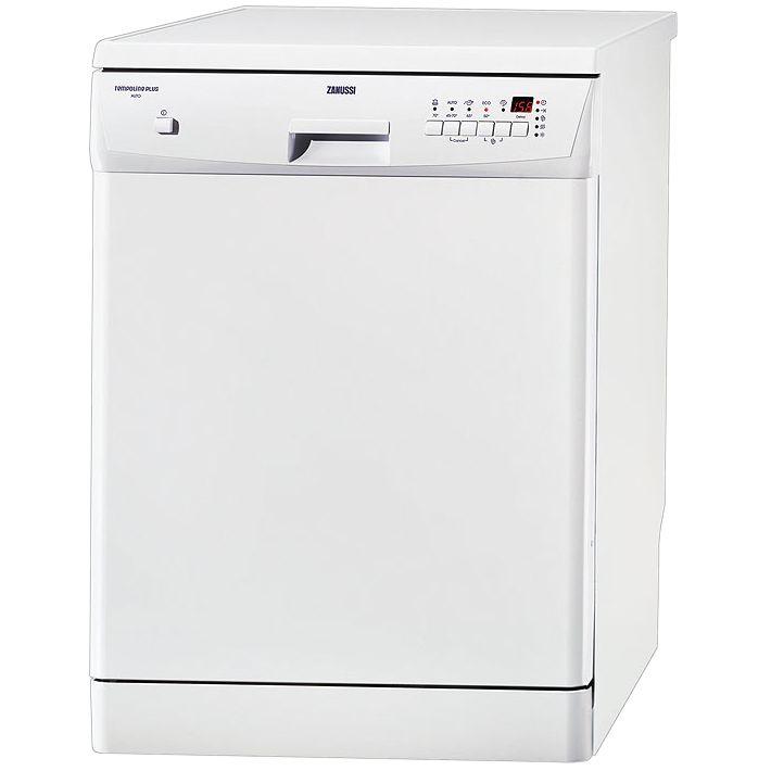 Zanussi ZDF4010 Dishwasher, White at John Lewis