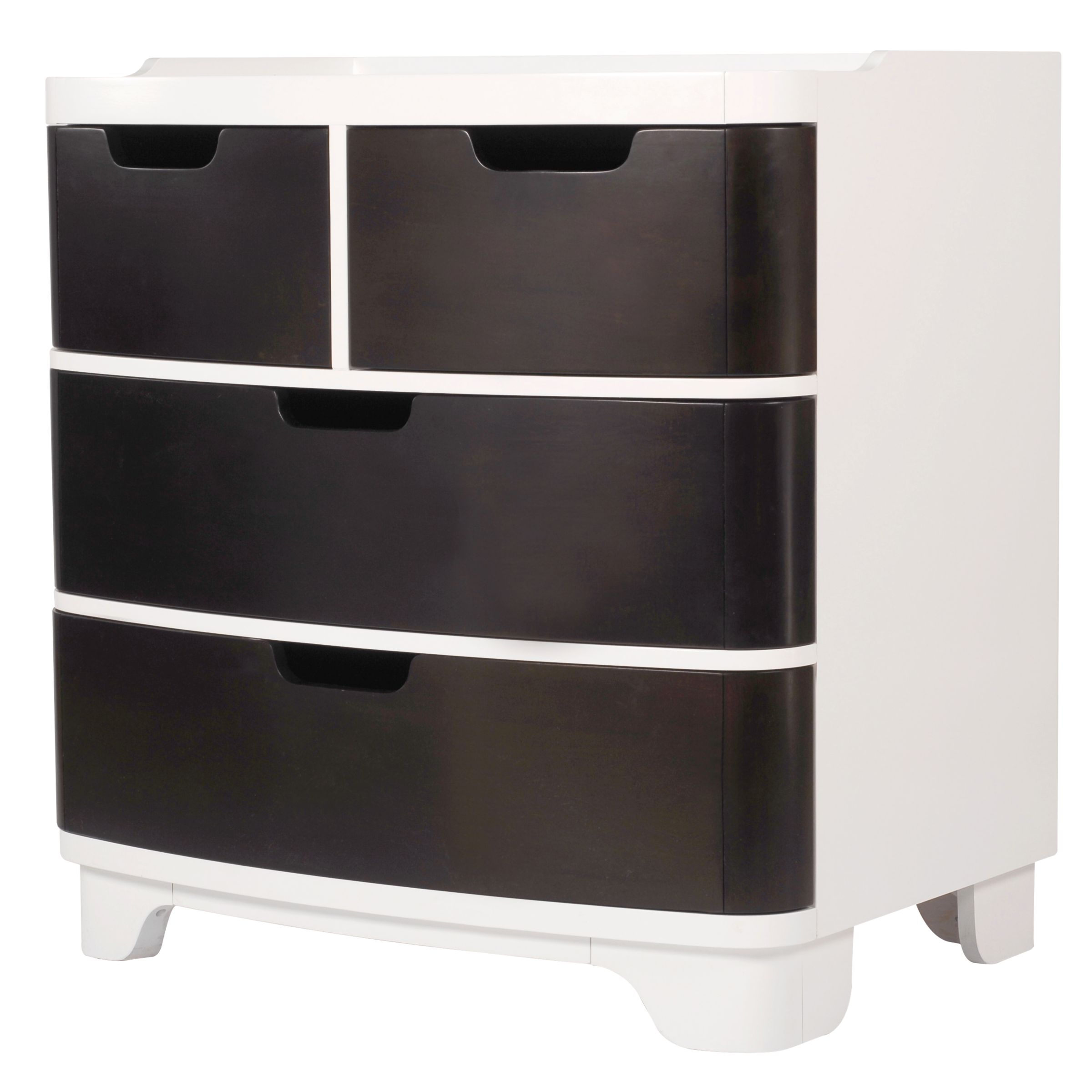 bloom Luxo Dresser and Changer, Cappucino at John Lewis
