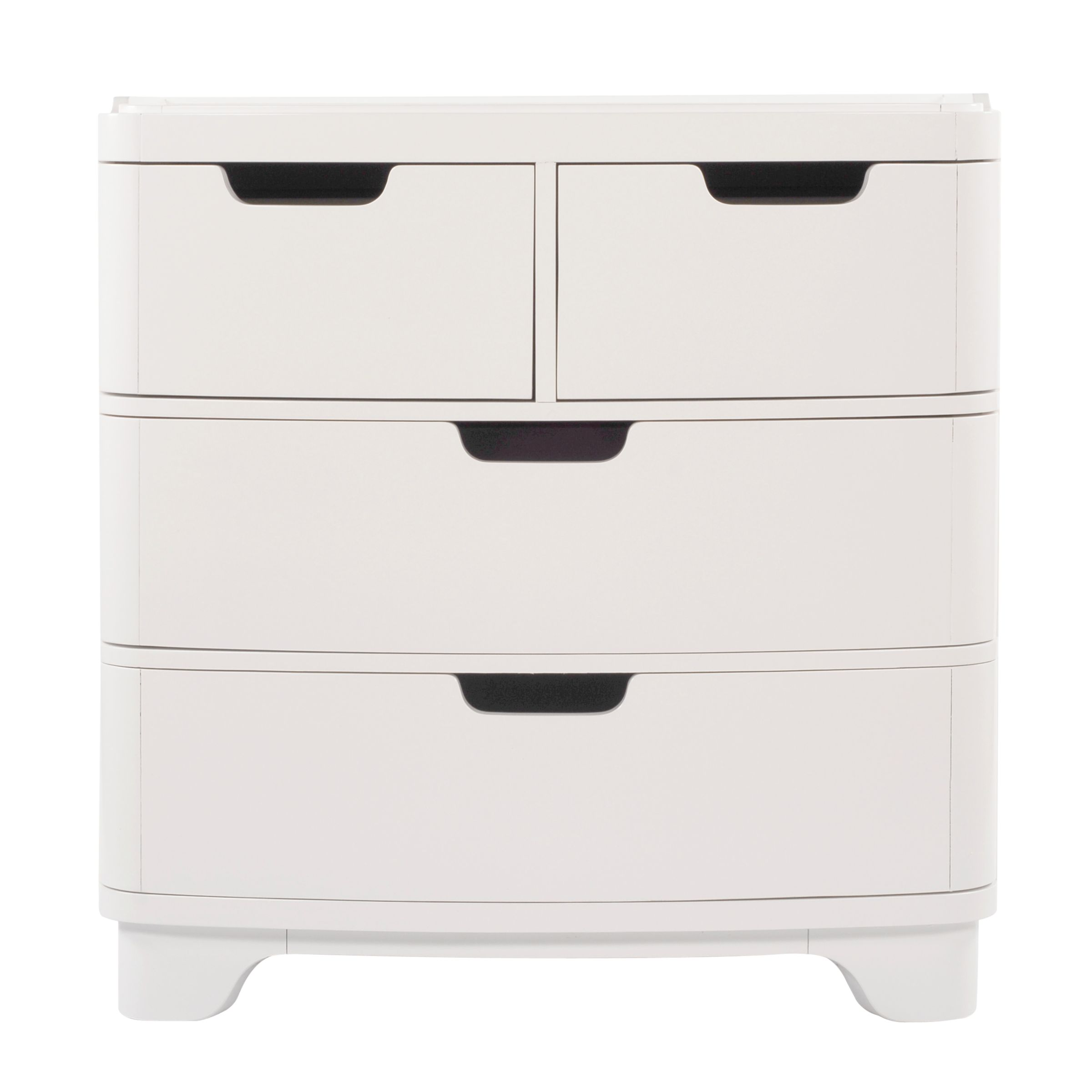 bloom Luxo Dresser and Changer, Coconut White at John Lewis