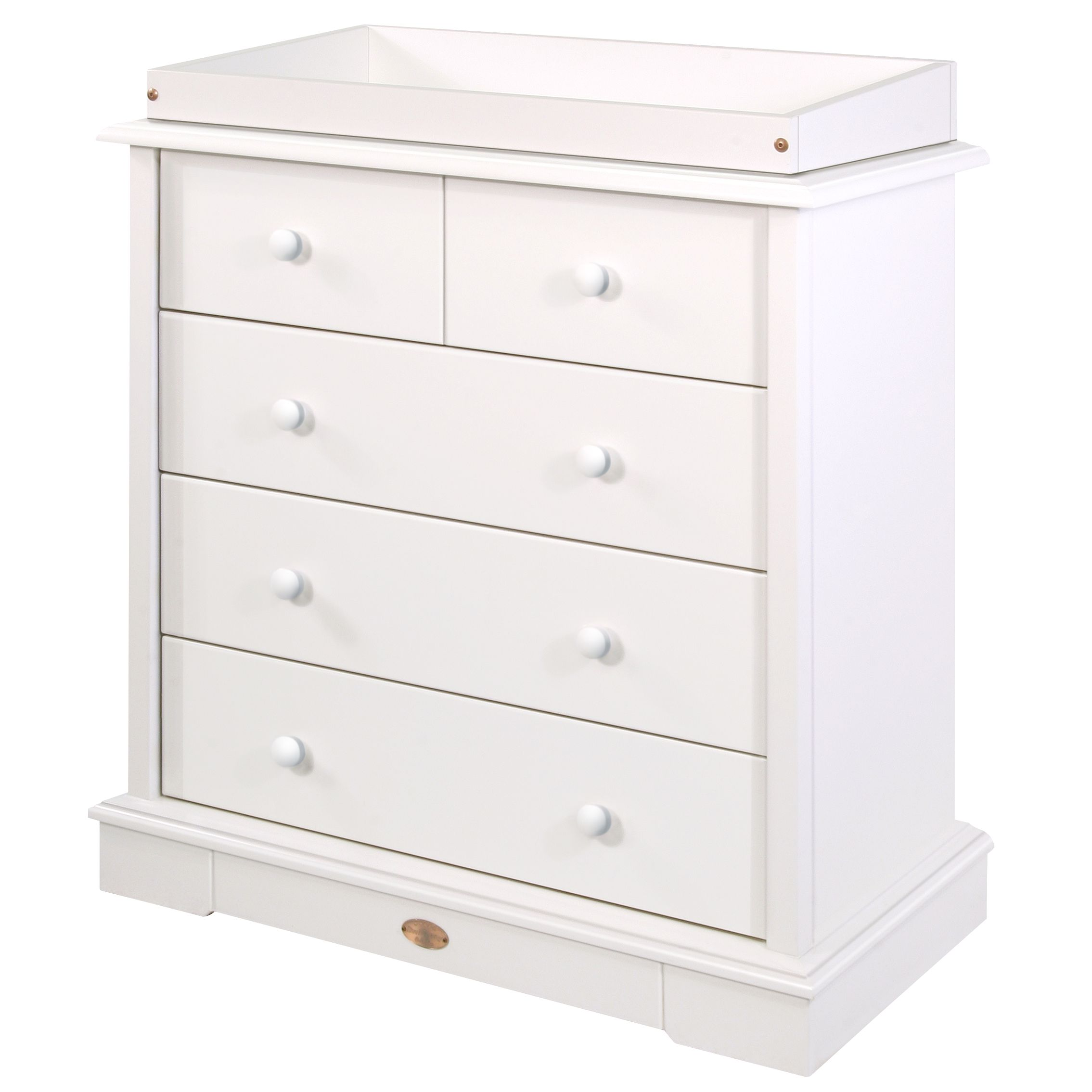 4 Drawer Chest, White