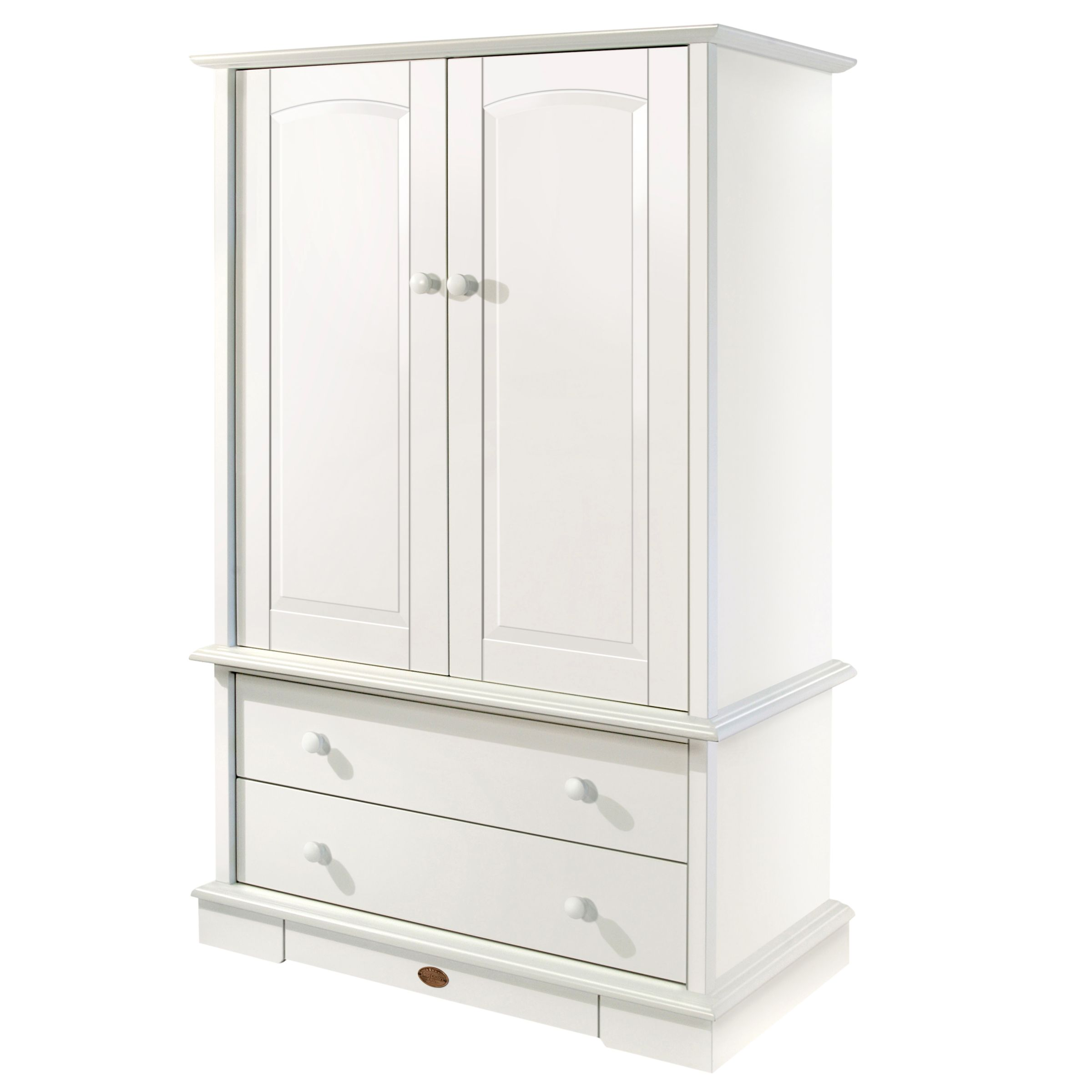 Nursery Wardrobe, White
