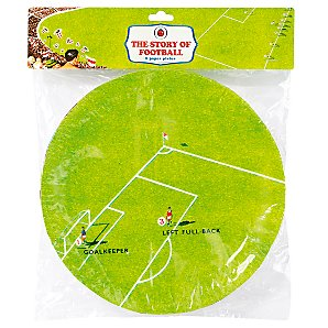 Ladybird Story of Football Paper Plates, Pack of 8