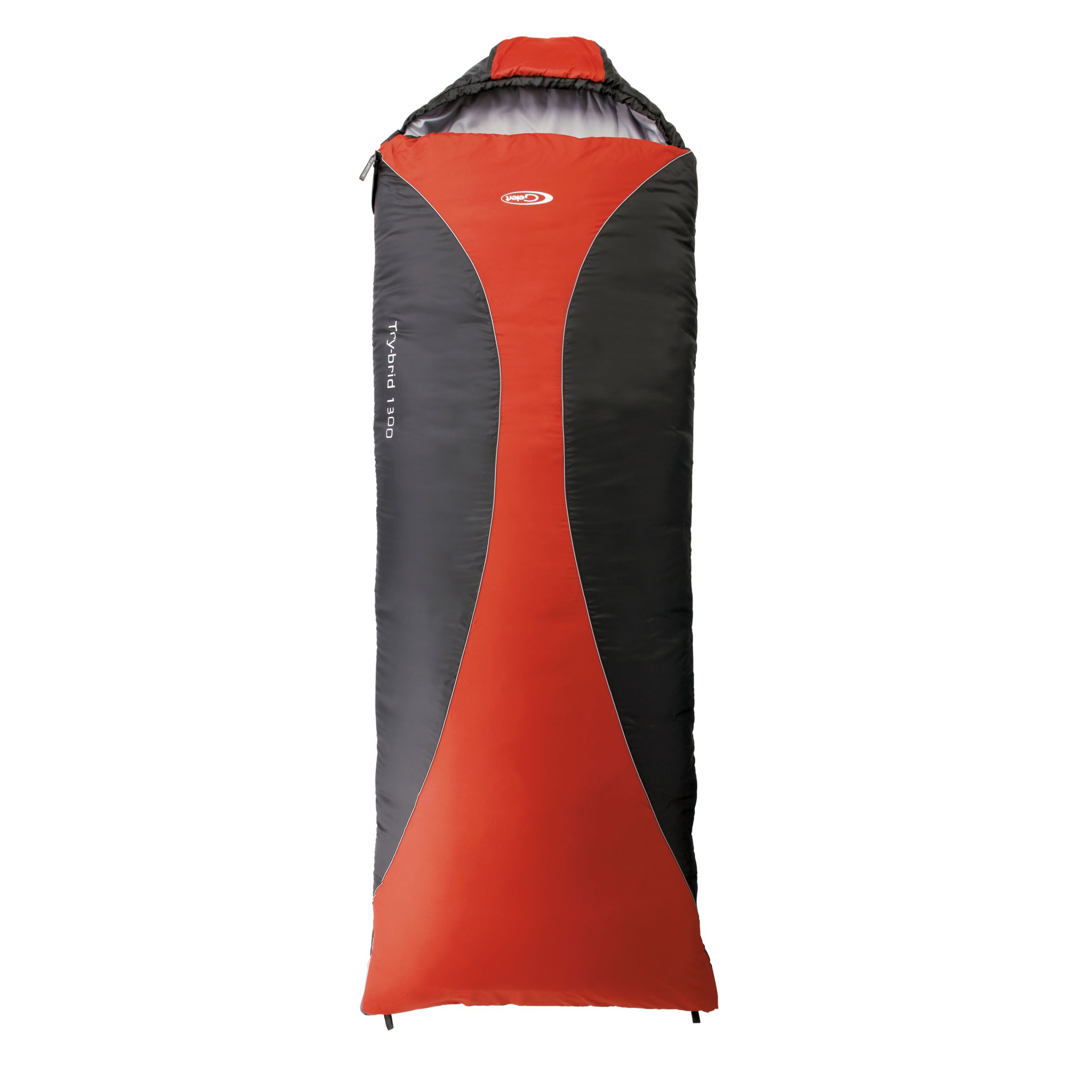 Try-Brid 1300 Sleeping Bag, Black/Red