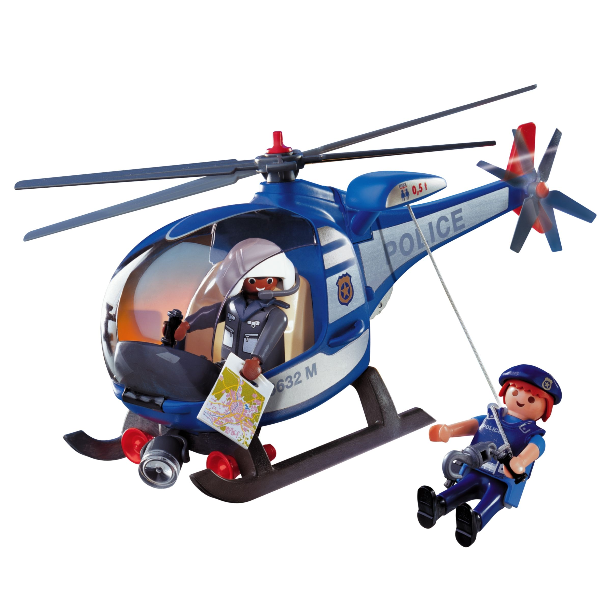 Playmobil Police Helicopter