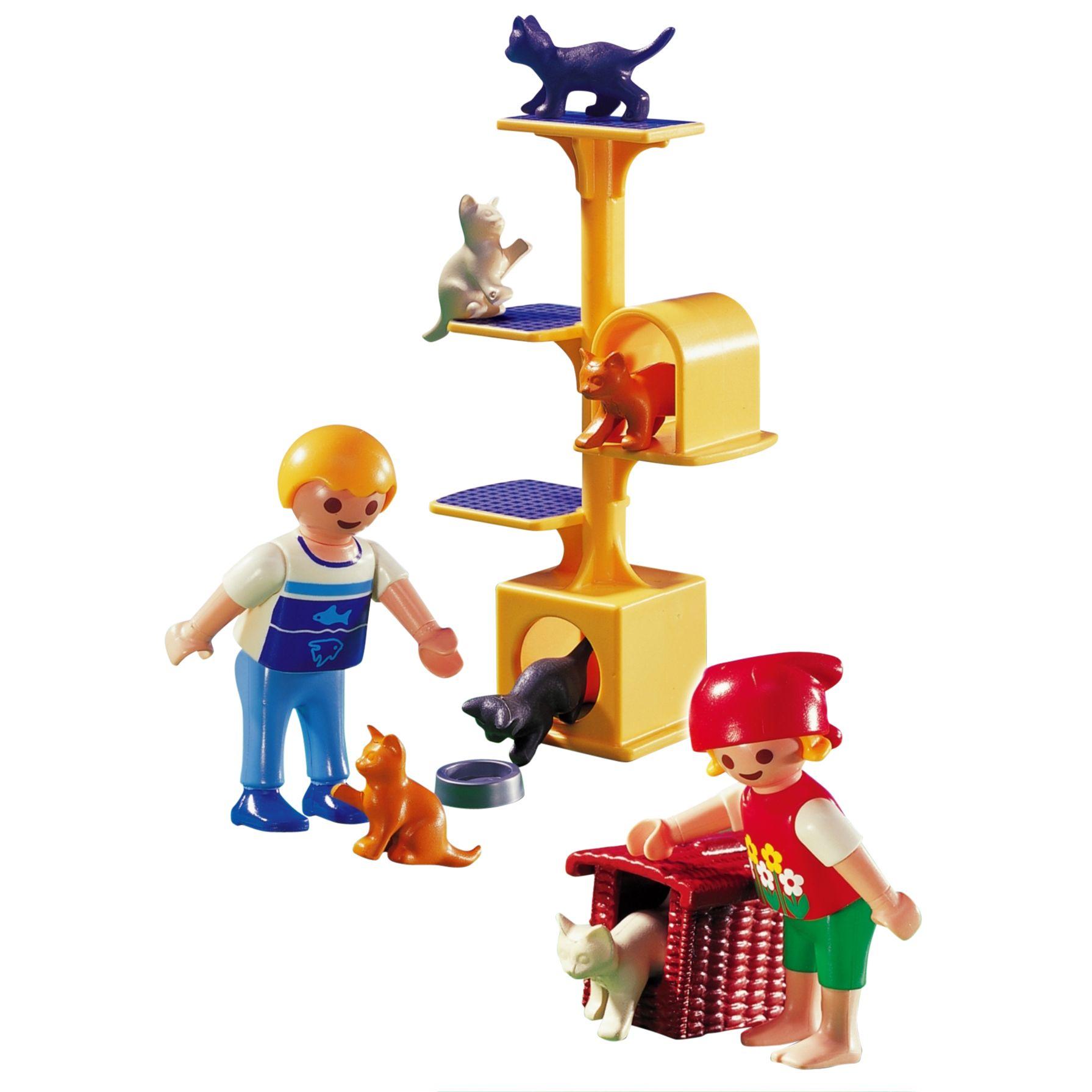 Playmobil Cat Scratch Tree