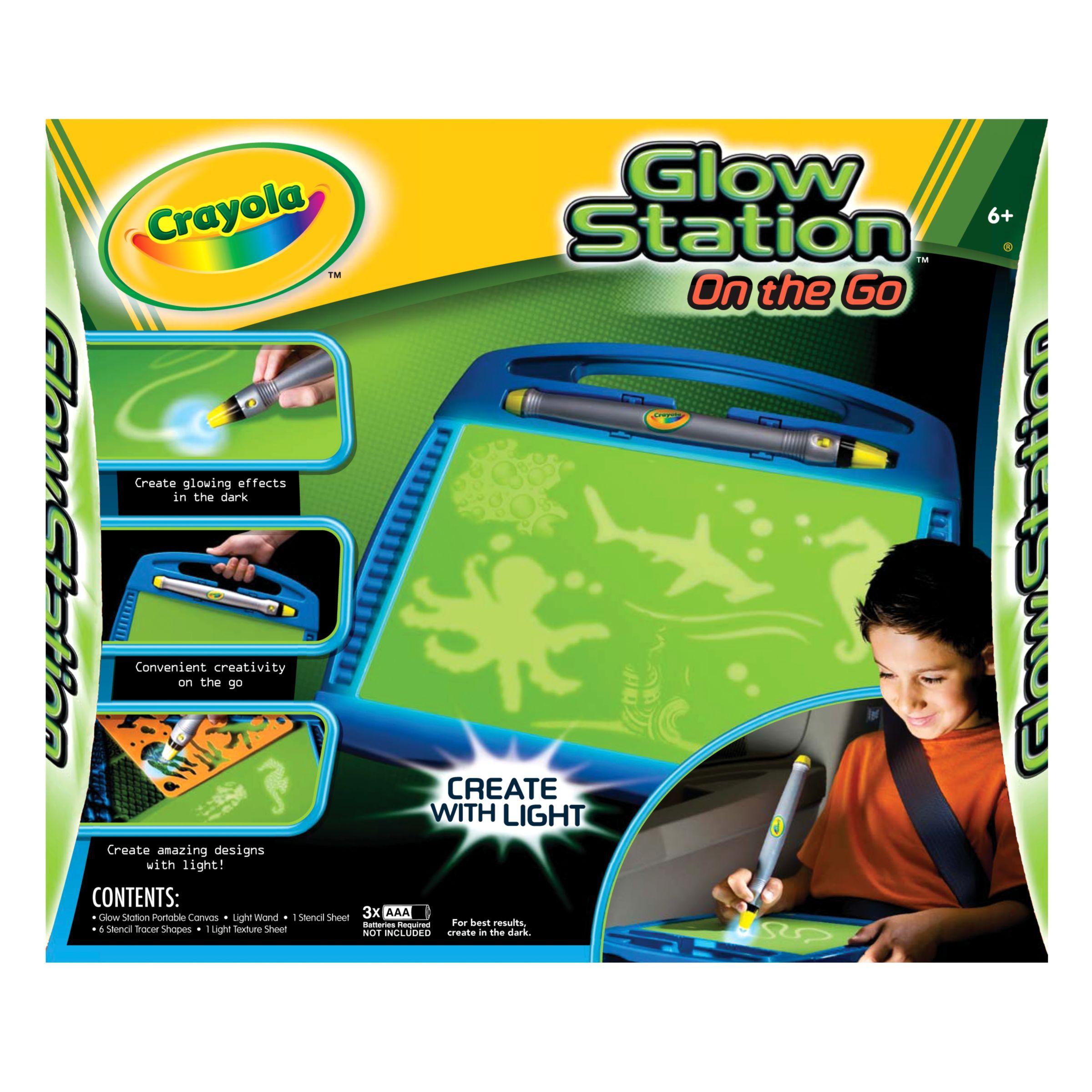 Crayola Glow Station On The Go