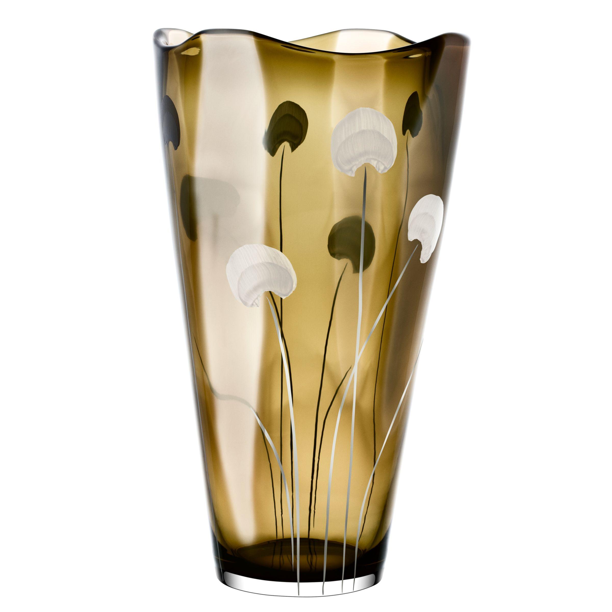 Kosta Boda Spring Blossom Vase at John Lewis