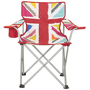 John Lewis Union Flag Folding Chair