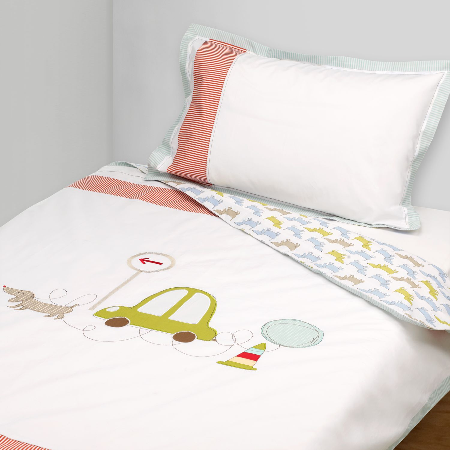 Cot Cotbed Duvet Cover And Pillowcase