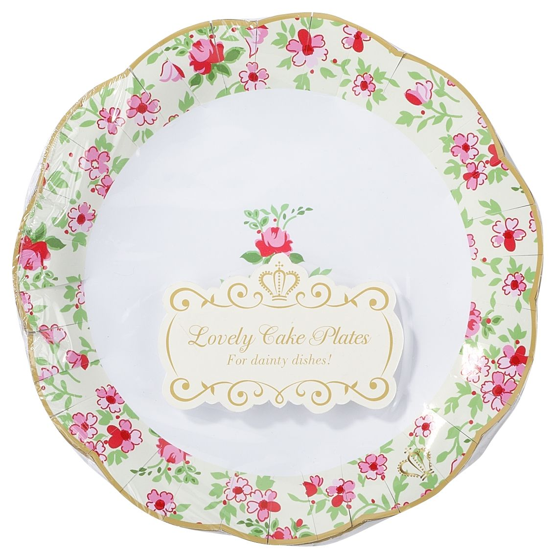 Truly Scrumptious Cake Plates, Pack of 12