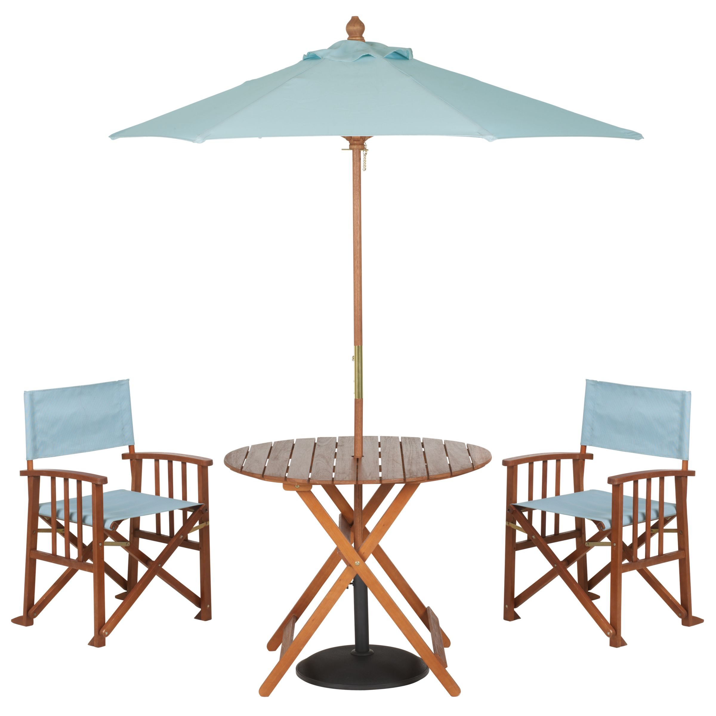 John Lewis Value Breeze Round Table and 2 Chairs Dining Set