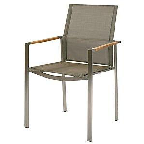 Barlow Tyrie Mercury Armchair, Platinum