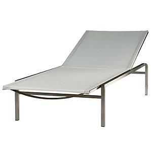Barlow Tyrie Quattro Sunlounger, White