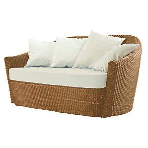 Barlow Tyrie Dune 2 Seat Sofa, Straw