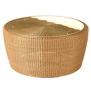 Barlow Tyrie Dune Conversation Table, Straw