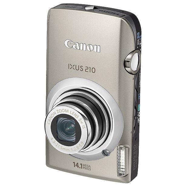 Canon IXUS 210IS Digital Camera, Silver at John Lewis