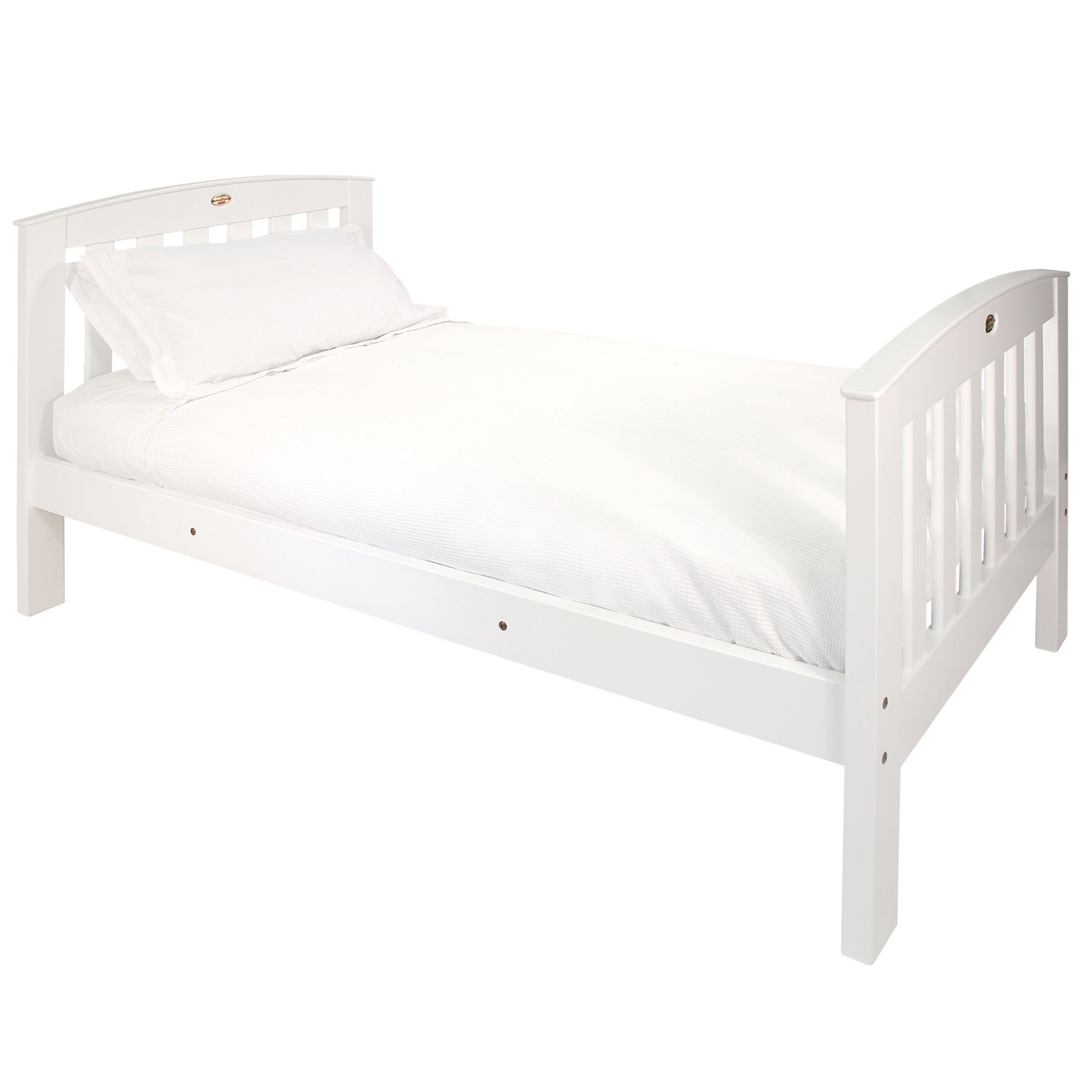 Classic Single Bedstead, White