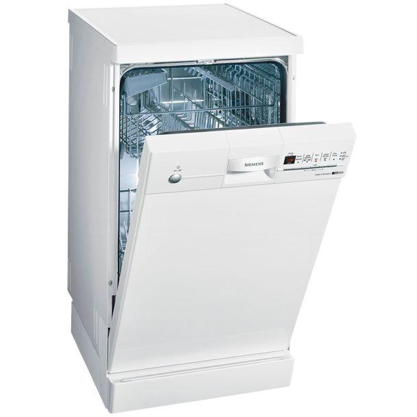 Siemens SF24T252GB Slimline Dishwasher, White at JohnLewis