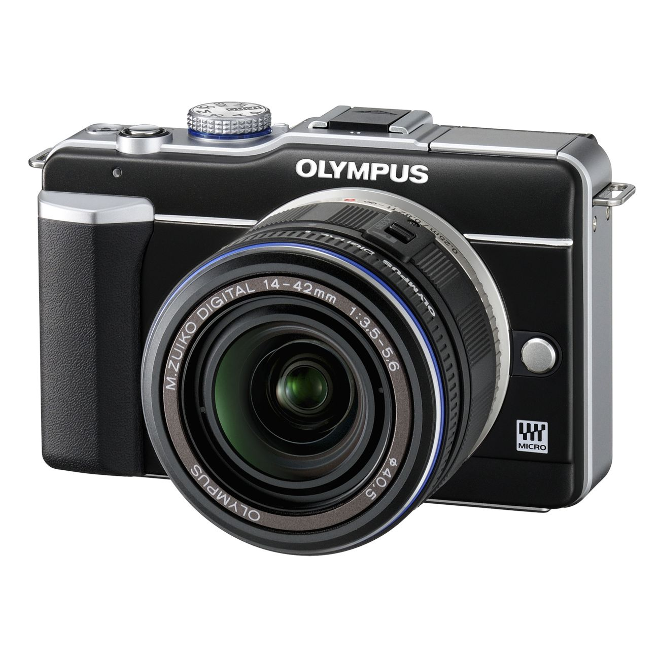 Olympus E-PL1 Micro Four Thirds Digital SLR Camera with 14-42mm Lens at JohnLewis