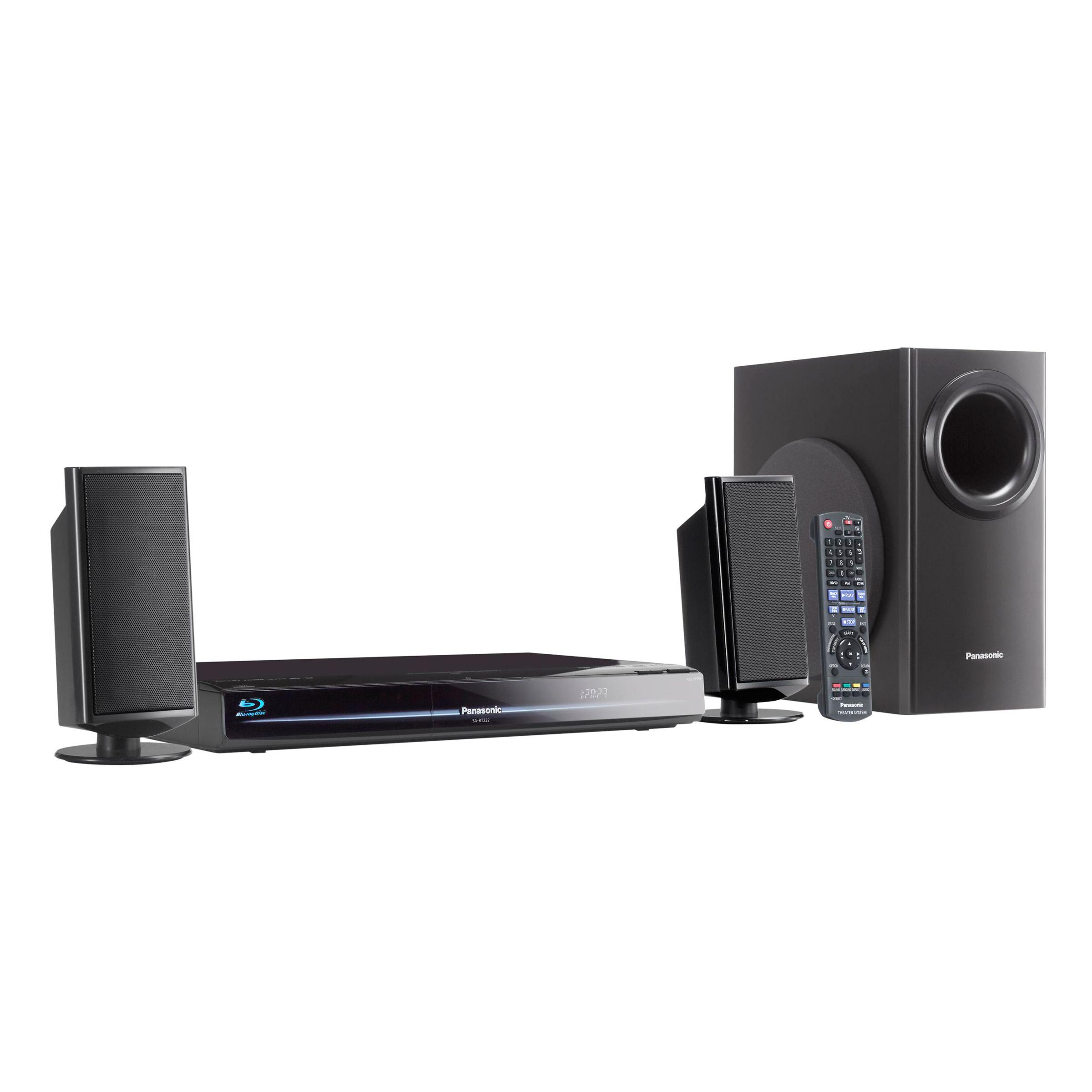 White apron john lewis - Panasonic Sc Bt222eb K Blu Ray Home Cinema System At John Lewis