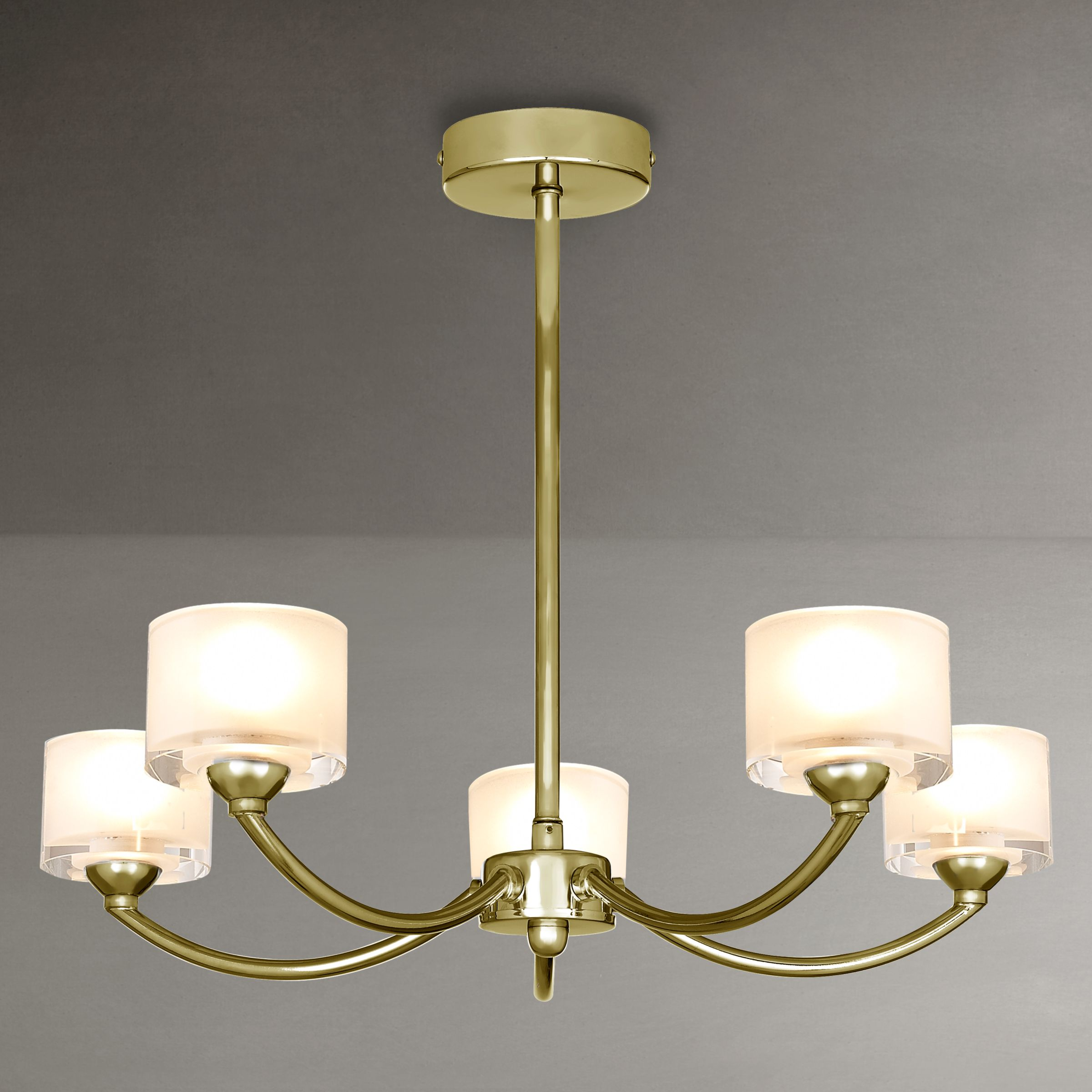 John Lewis White Ceiling Lights : John lewis paige ceiling light arm review compare