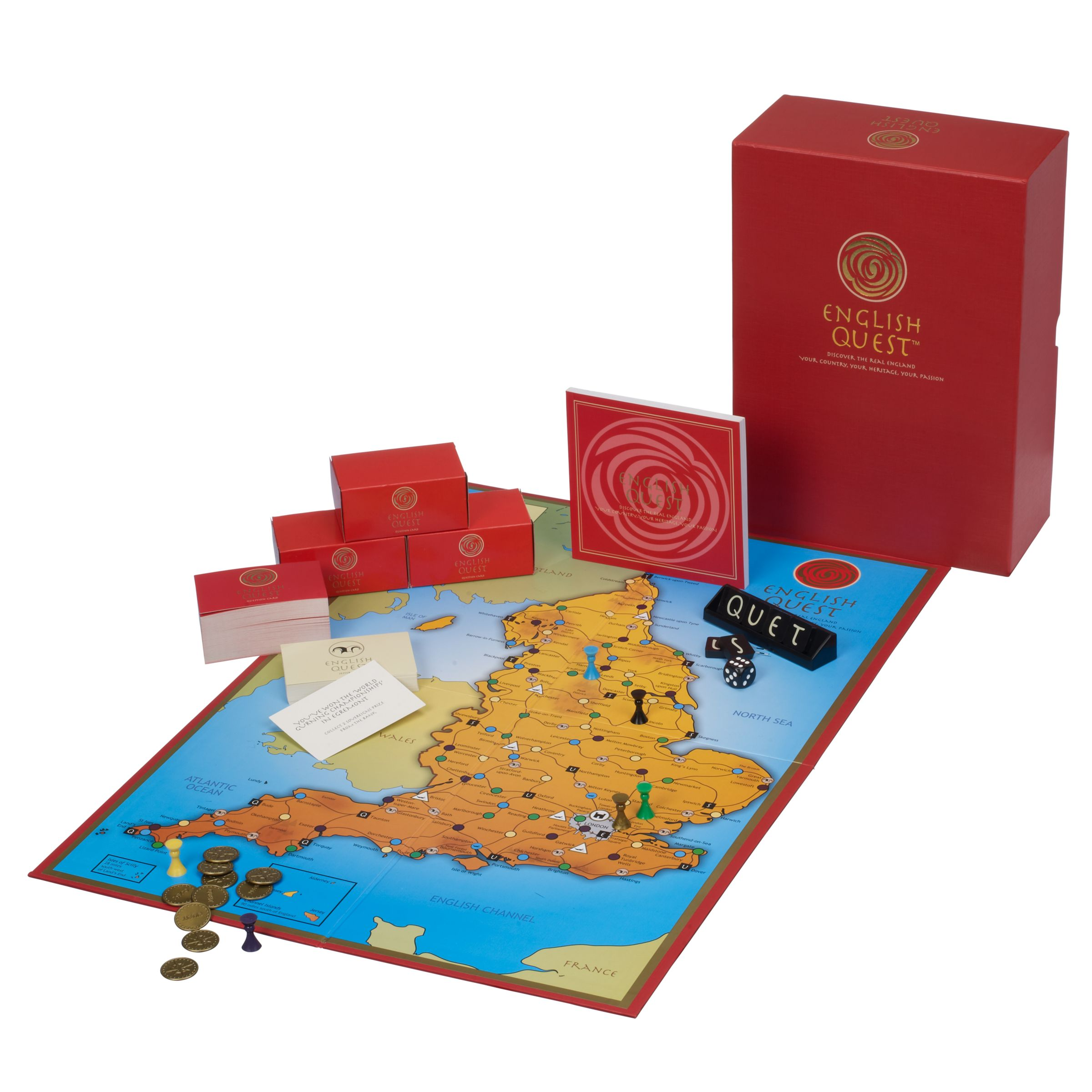 English Quest Board Game