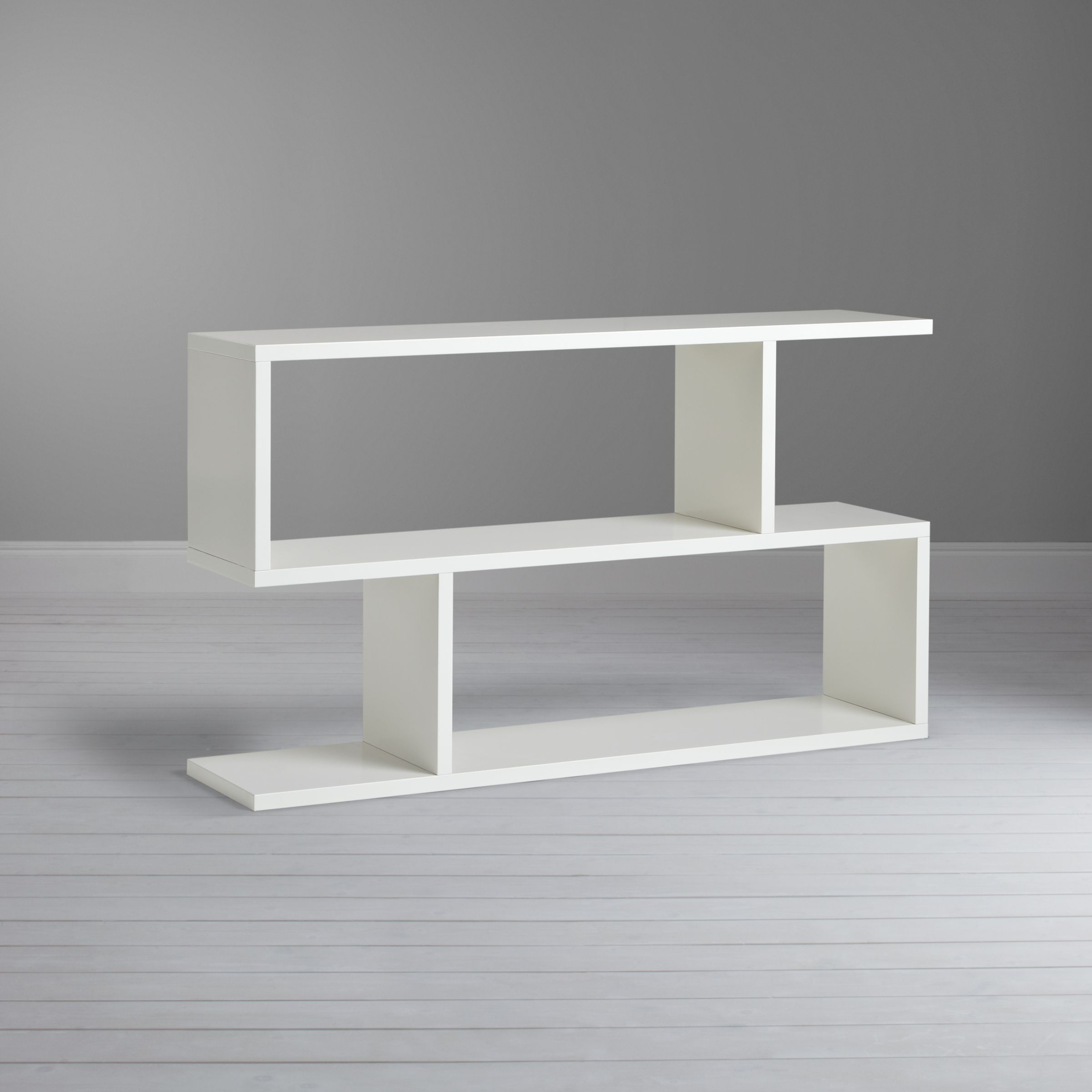 Content by Conran Balance Console Table/Low Shelving, White at John Lewis