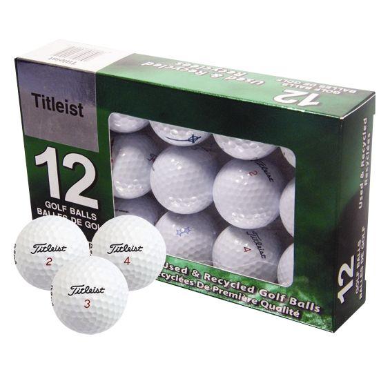 Grade A Lake Golf Balls, Pack of 12