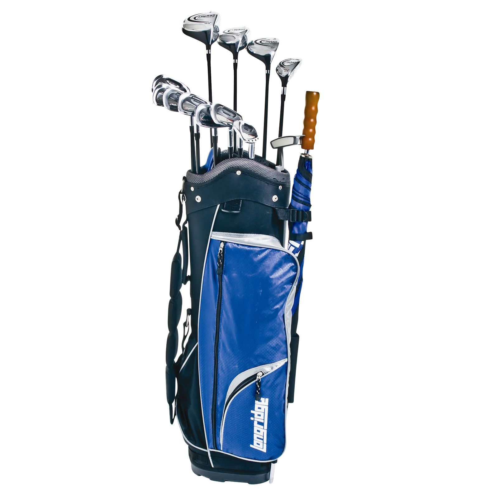 Longridge Alpha II 32-Piece Golf Set at JohnLewis