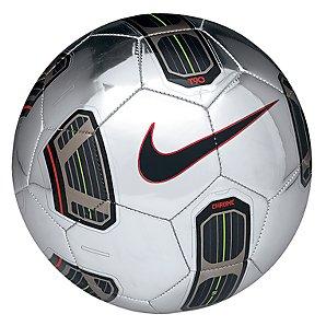 Nike T90 Chrome Ball, Size 5, Silver
