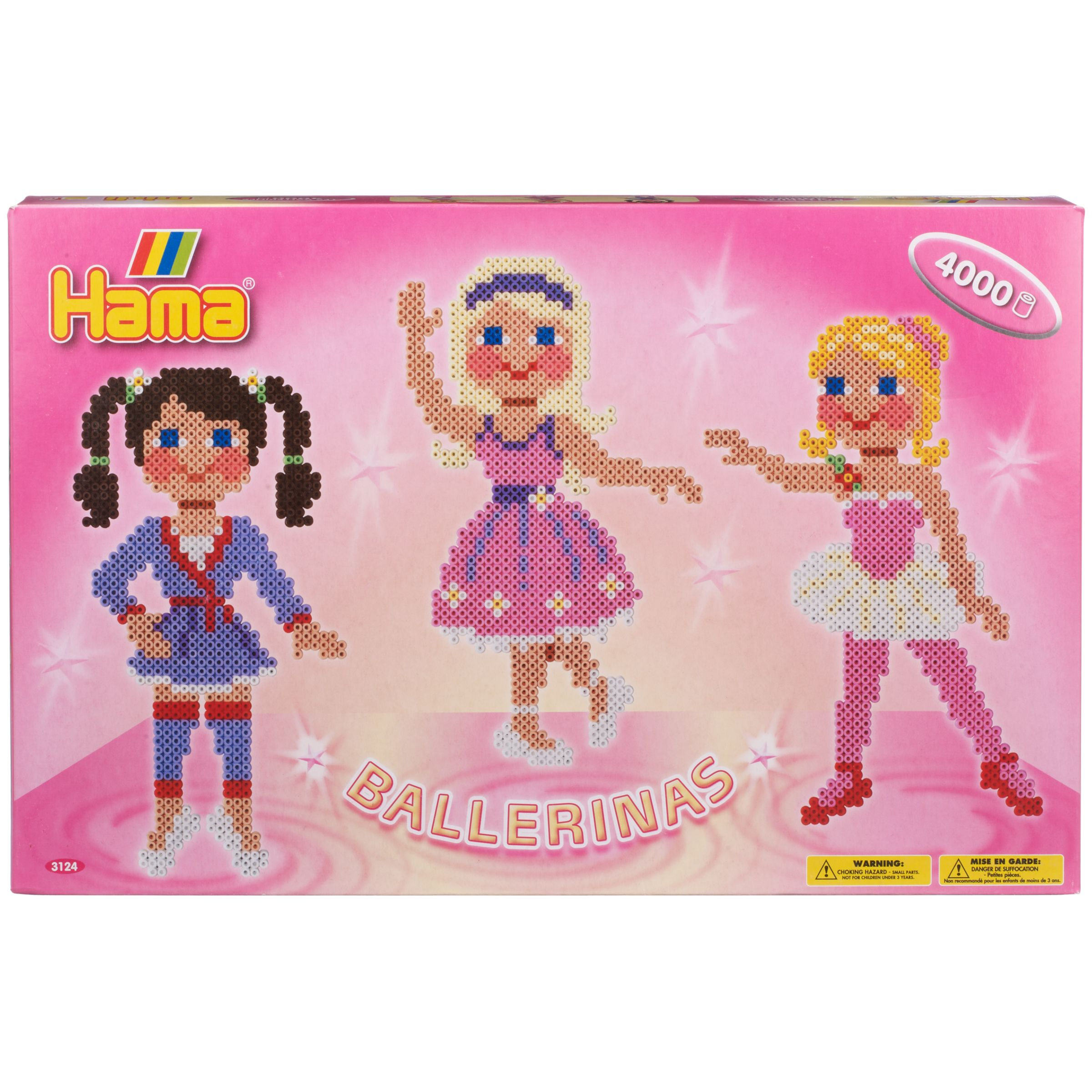 Hama Beads Ballerinas