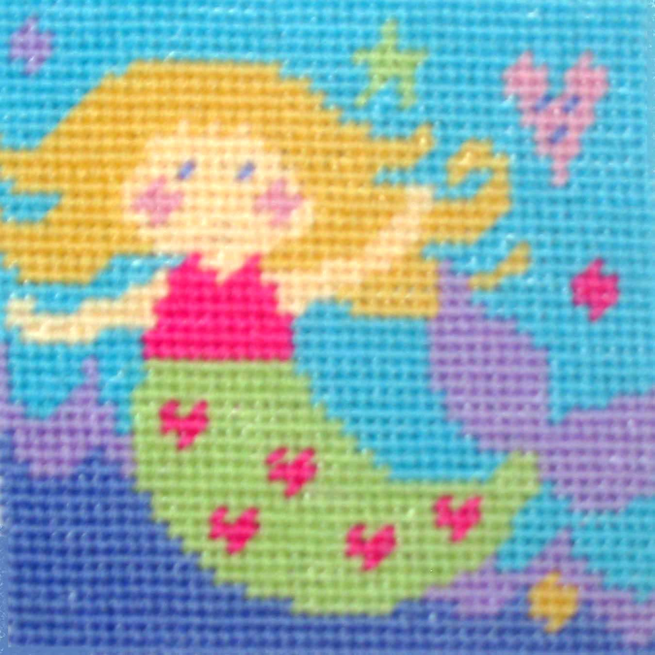 The Stitching Shed Mermaid Tapestry Kit